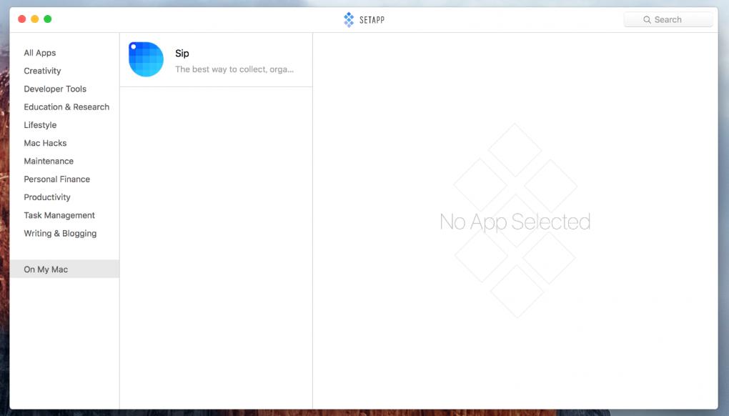Macの人気アプリが定額で使えるサービスAPPSETでインストールしたアプリを確認する