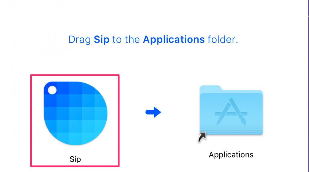 MacのカラーピッカーSipのインストール