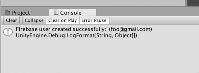 FirebaseとunityのAuthエラー